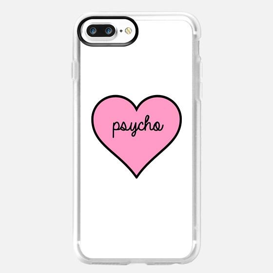 Psycho Pink Heart -