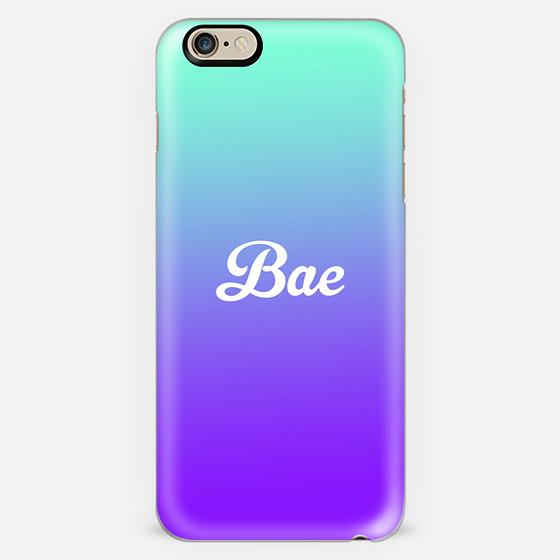 Bae Turquoise Purple Gradient Fade -