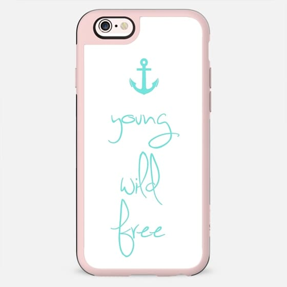 Young, Wild & Free Tiffany Anchor Design -