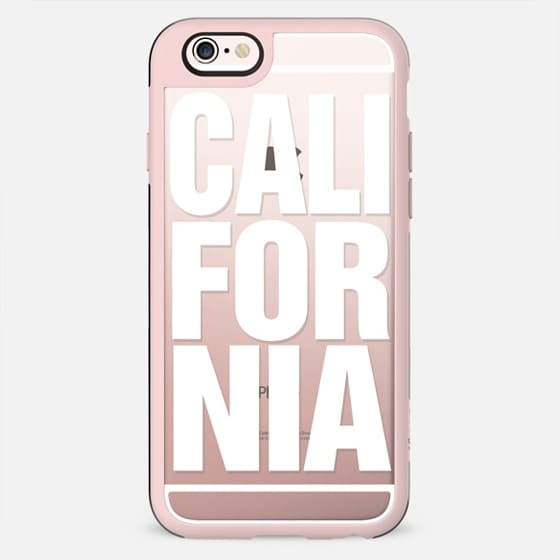 California White Typography - New Standard Case