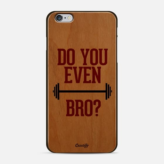 Do You Even Lift Bro? - Classic Snap Case