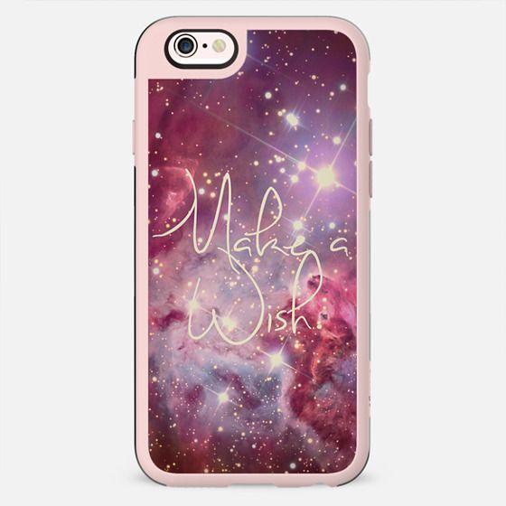 Make A Wish Vintage Nebula Galaxy Stars -
