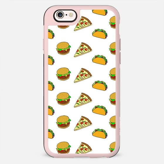 Pizza Taco Burger Pattern