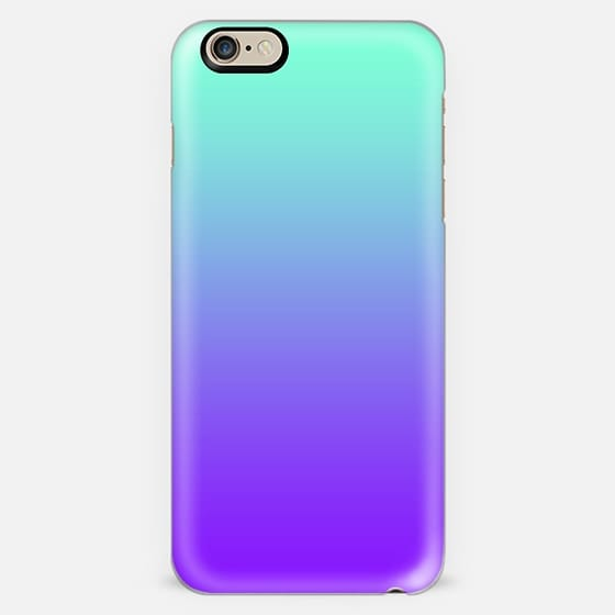 Tiffany Mint Turquoise Purple Fade  -
