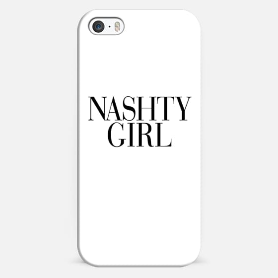 Nashty Girl Vogue Typography - Classic Snap Case