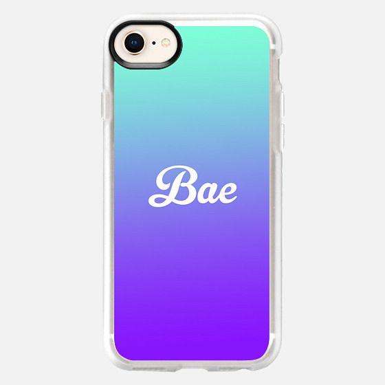Bae Turquoise Purple Gradient Fade - Snap Case