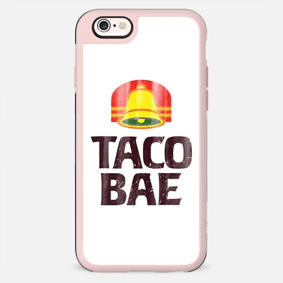 Taco Bae Vintage Print iPhone Case - New Standard Case