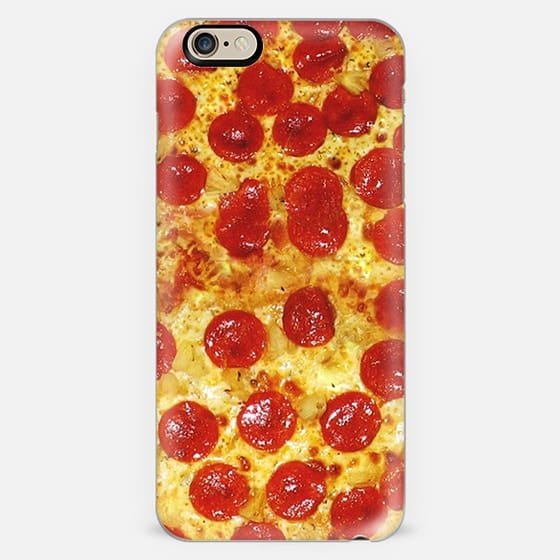 Pepperoni Pizza Print iPhone 6 Case -