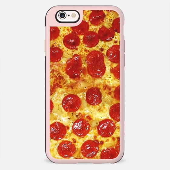 Pepperoni Pizza Print iPhone 6 Case - New Standard Case