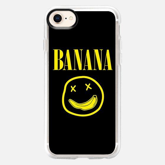 Banana Nirvana Smiley Face - Snap Case