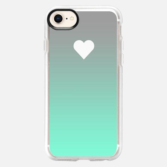 Tiffany Apple Fade Heart - Snap Case