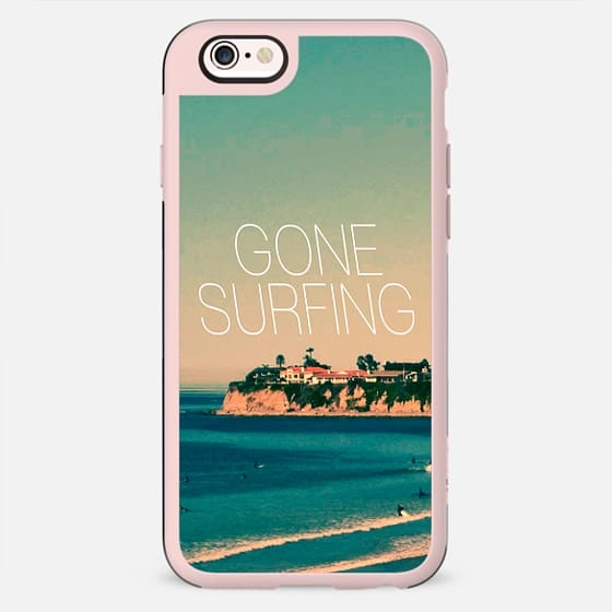 Gone Surfing Vintage Beach -