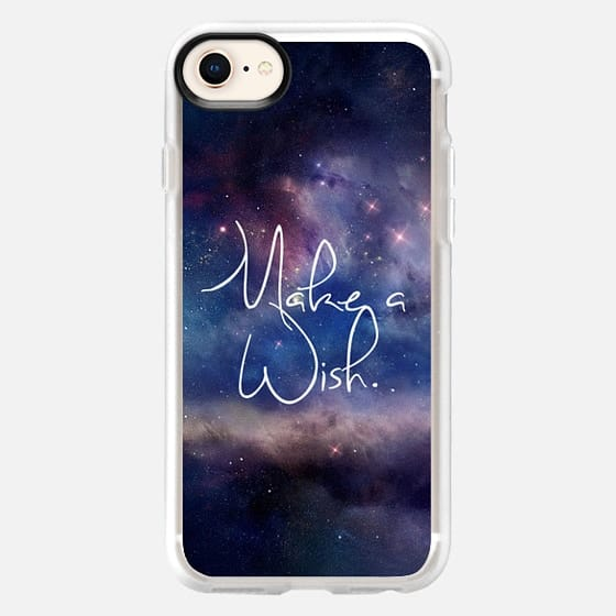 Make a Wish Galaxy Space Universe - Snap Case