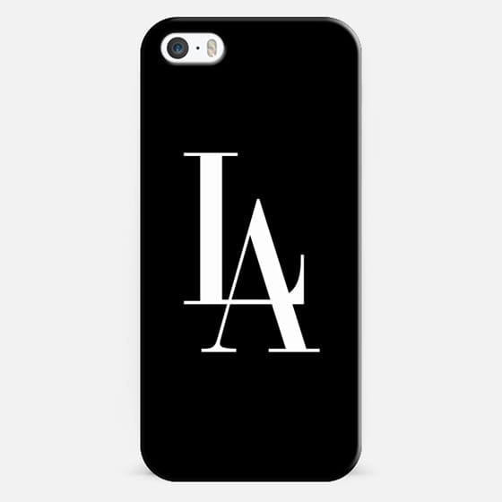 LA Vogue Los Angeles Typography - Classic Snap Case