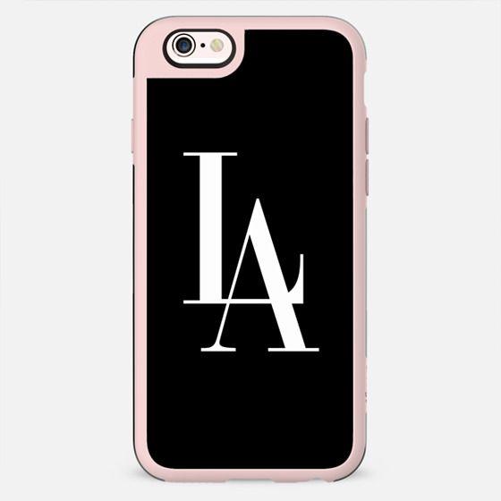 LA Vogue Los Angeles Typography -