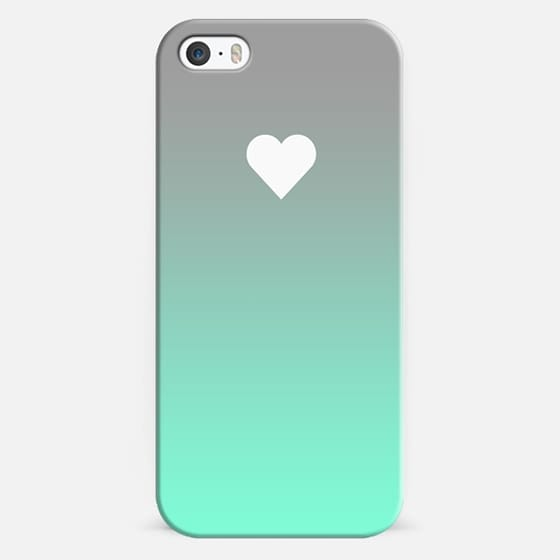 Tiffany Fade Apple Heart - Classic Snap Case