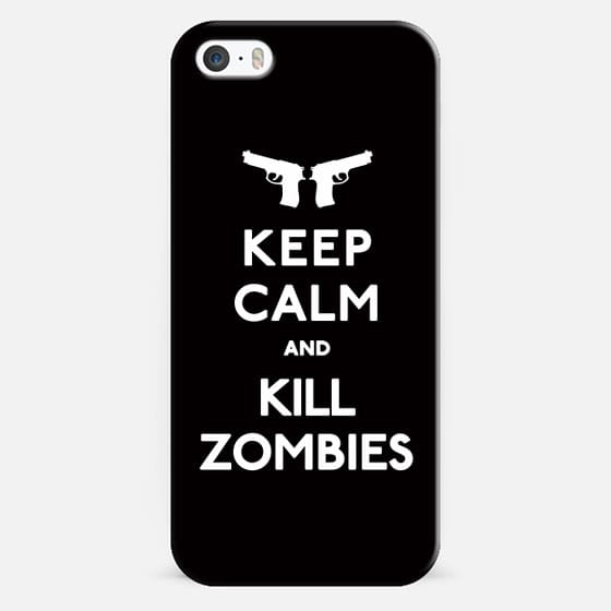 Keep Calm and Kill Zombies - Classic Snap Case
