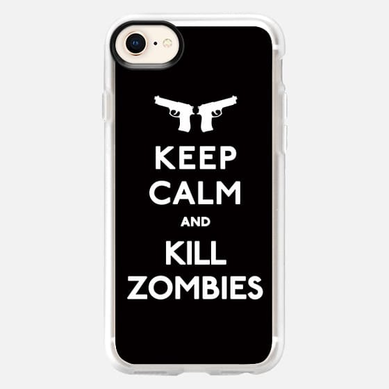 Keep Calm and Kill Zombies - Snap Case