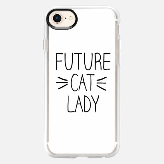 Future Cat Lady Whiskers - Snap Case
