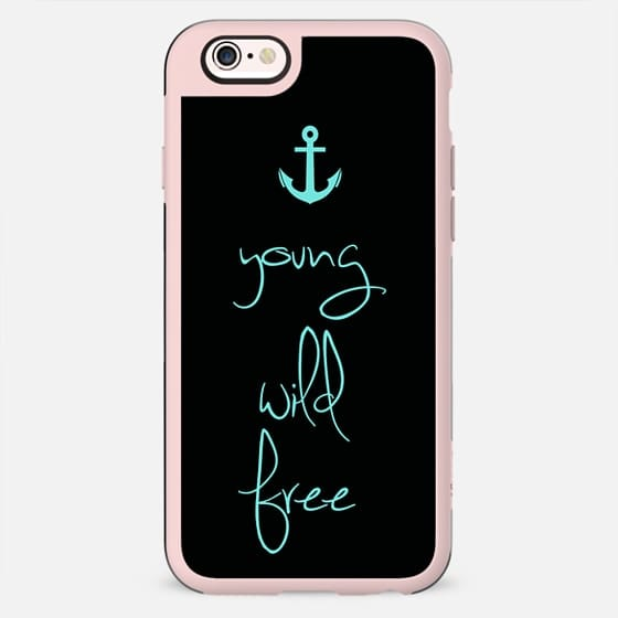 Young, Wild & Free Tiffany Anchor -