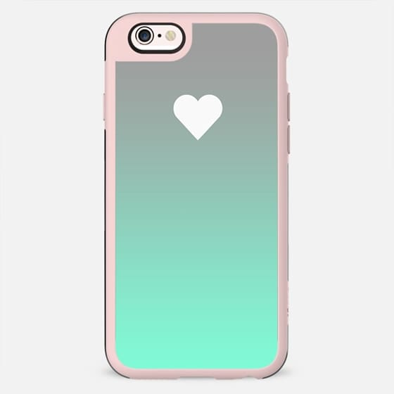 Tiffany Apple Fade Heart - New Standard Case