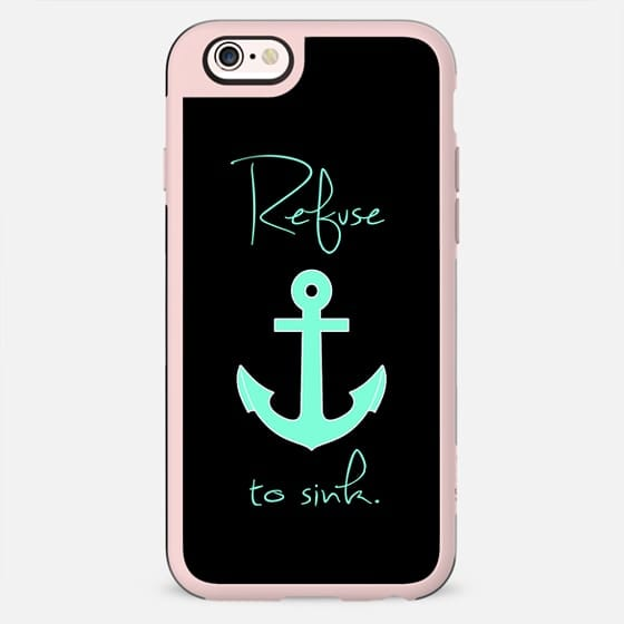 Refuse to Sink Tiffany Anchor -