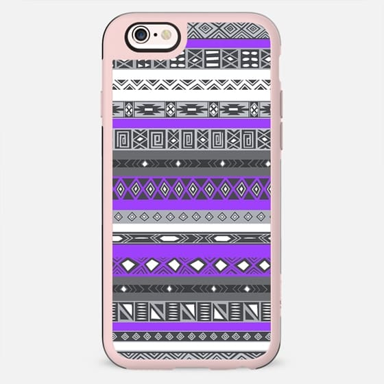 Electric Purple Aztec Pattern