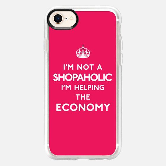 I'm not a Shopaholic, I'm helping the Economy Keep Calm Design - Snap Case