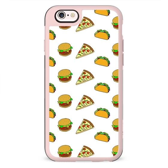 Pizza Taco Burger Pattern