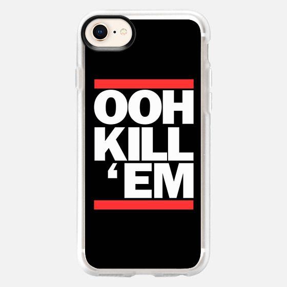 Ooh Kill Em Run DMC - Snap Case