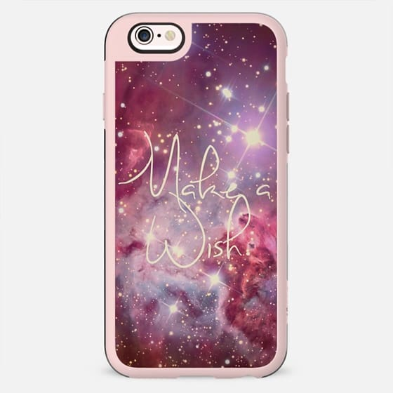 Make A Wish Vintage Nebula Galaxy Stars -