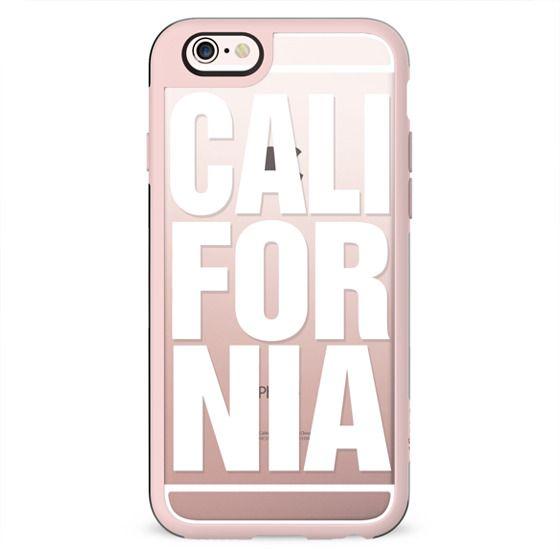 California White Typography