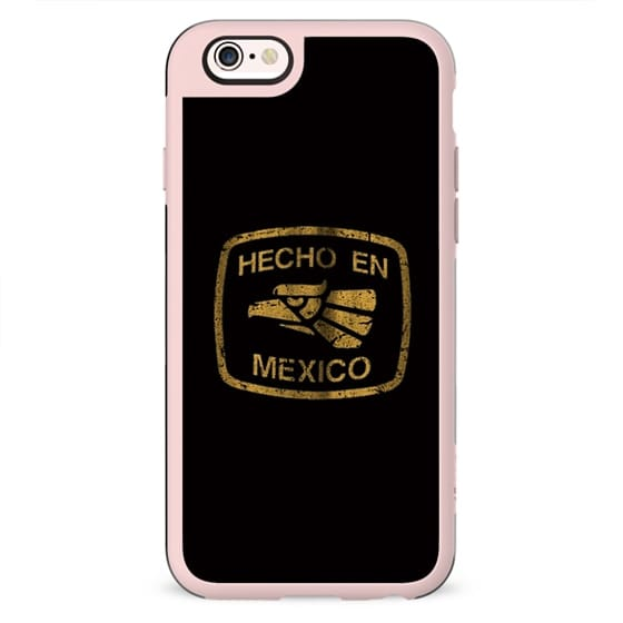 Hecho en Mexico Vintage Print