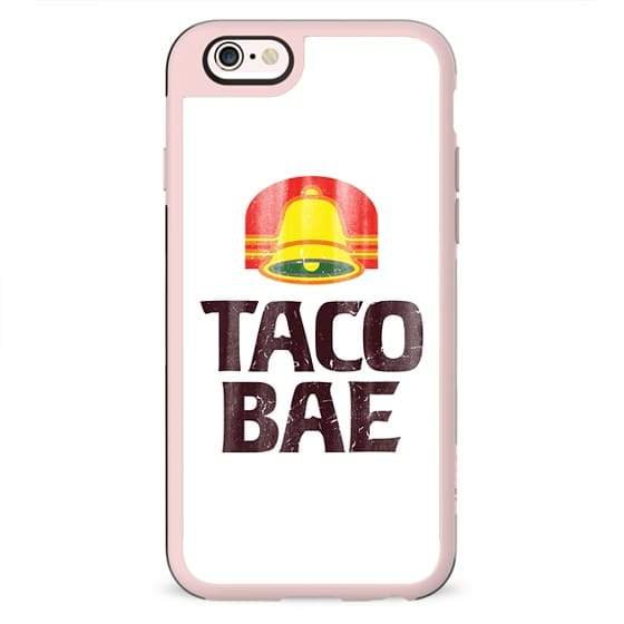 Taco Bae Vintage Print iPhone Case