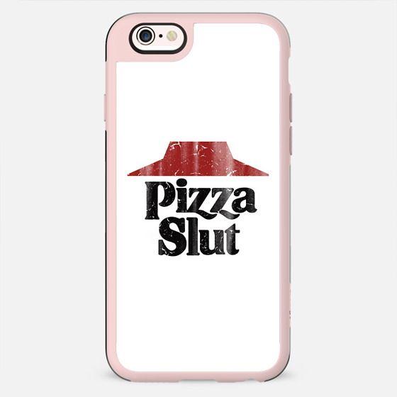 Pizza Slut Vintage Print