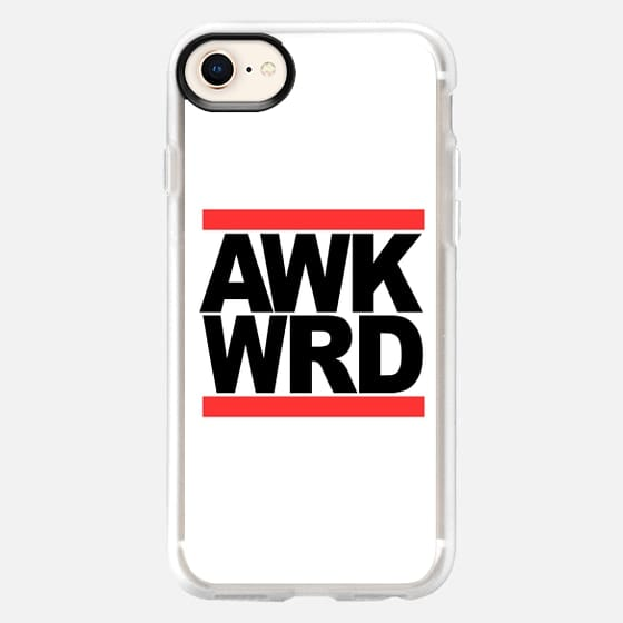 AWK WRD RUN DMC Awkward - Snap Case