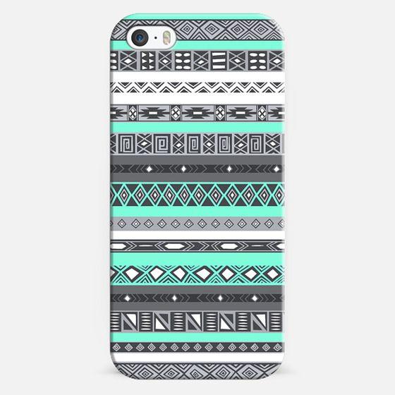 Tiffany Aztec Tribal Pattern - Classic Snap Case