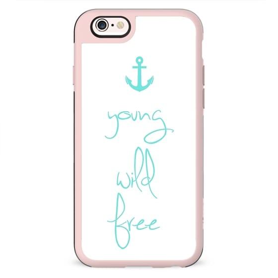 Young, Wild & Free Tiffany Anchor Design