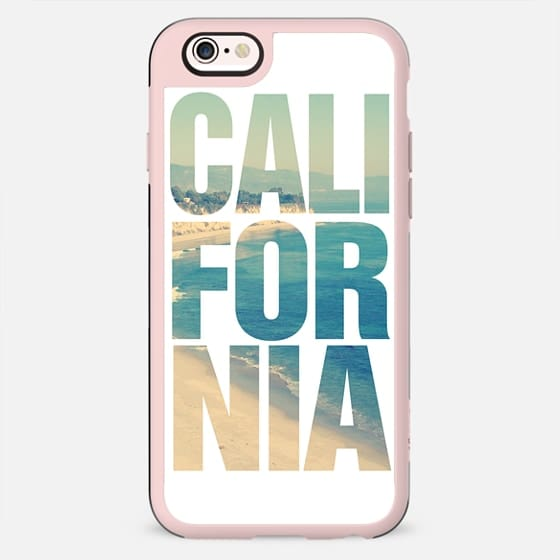 California Vintage Beach Typography iPhone 6 Case - New Standard Case