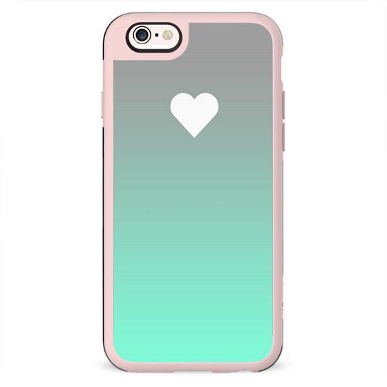 Tiffany Fade Apple Heart