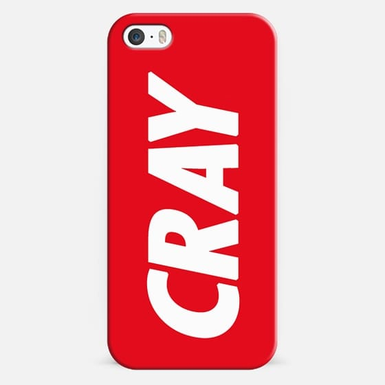 Cray Obey Red - Classic Snap Case