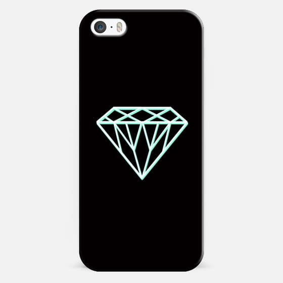Tiffany 3D Diamond - Classic Snap Case