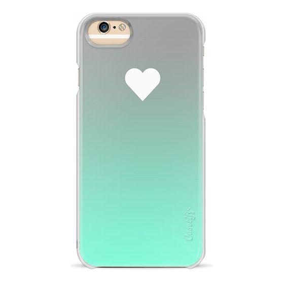 iPhone 6s Cases - Tiffany Apple Fade Heart