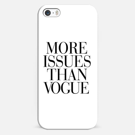 More Issues than Vogue -