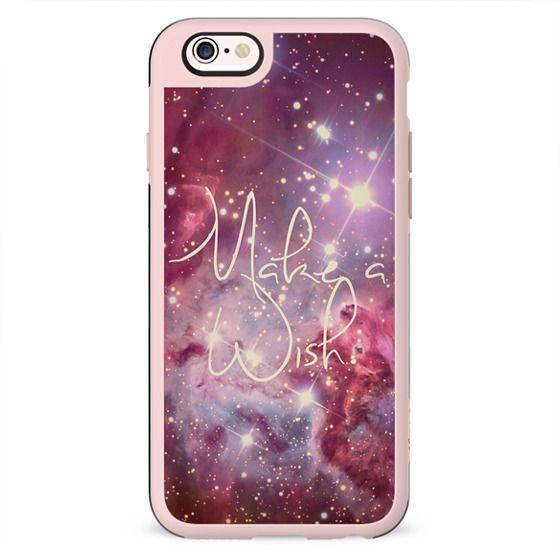 Make A Wish Vintage Nebula Galaxy Stars