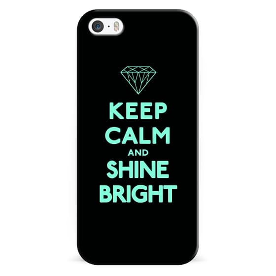 iPhone 6s Cases - Keep Calm and Shine Bright Tiffany Diamond
