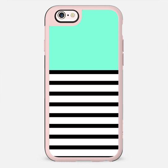 Tiffany Black and White Stripes Design