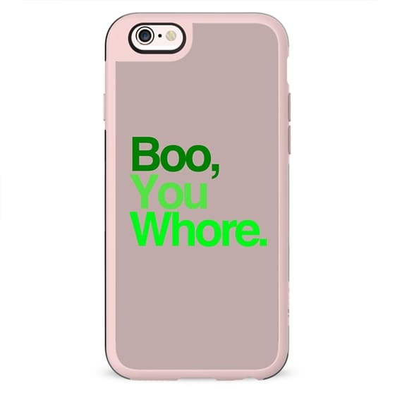 Boo, You Whore. Mean Girls Helvetica Typography.