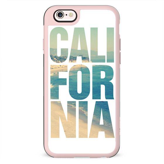 California Vintage Beach Typography iPhone 6 Case