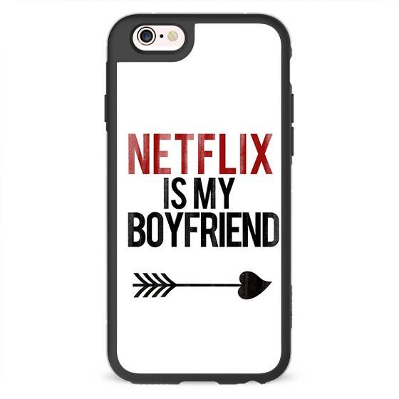 iPhone 6s Plus Cases - Netflix is my Boyfriend